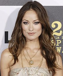 Olivia Wilde. Probably the strongest jawline in a woman I've ever seen. And she's gorgeous!