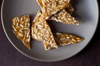 Pine Nut Brittle with Rosemary Recipe on Food52, a recipe on Food52