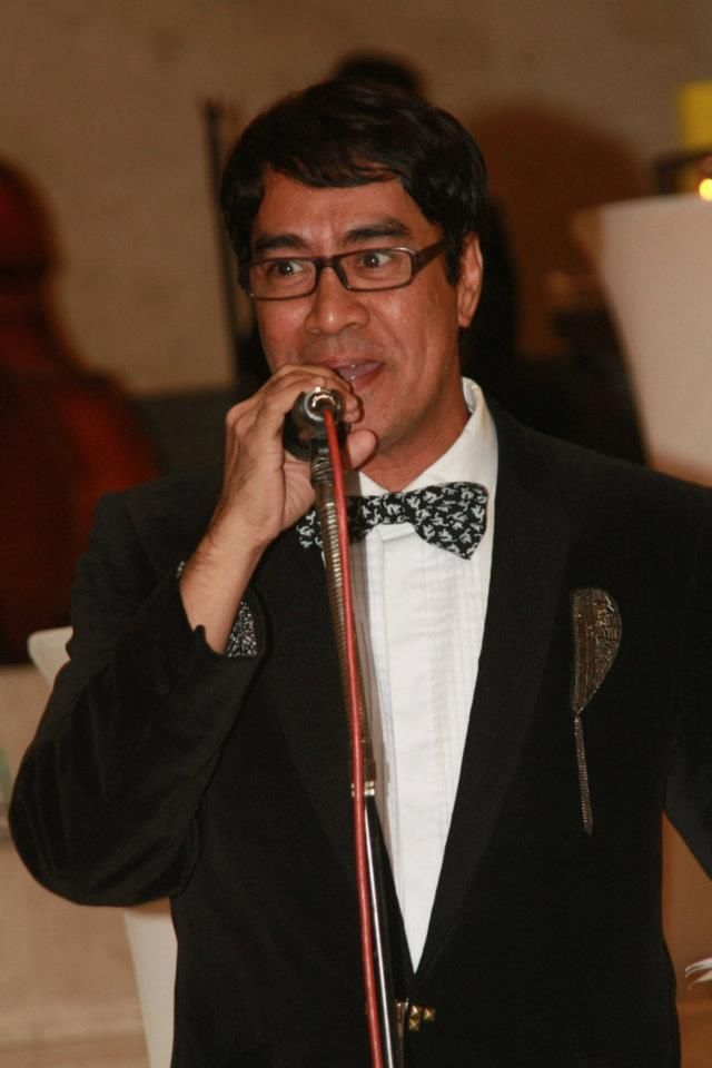 "John Ablaza during the book launch of ""Ramp Diva"". His personal book project to pay tribute to the Divas of Philippine Runway that brought honor and prestige to Philippine modelling industry during the late 70's to 2000. https://www.facebook.com/rampdivafilipina"