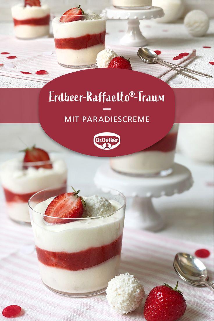 Erdbeer-Raffaello®-Traum – Dr. Oetker Deutschland