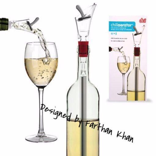 CVIN035 - Enfriador de vino + aereador (Aerator & chilling rod) - Producto de Diseñador
