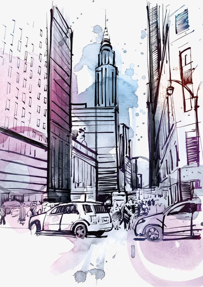 Vector Drawing Ink New York New Vector Ink New York New York Png And Vector With Transparent Background For Free Download Vector Drawing Drawings Ink