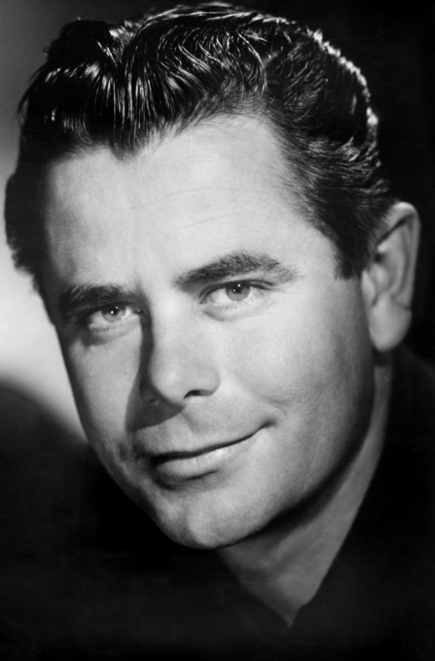 Glenn Ford (Eleanor Powell's ex. He was discovered by Bette Davis & co-starred in some films with her. )