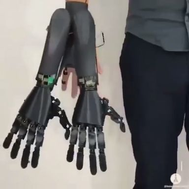 This is device that will give people a robotic thi…