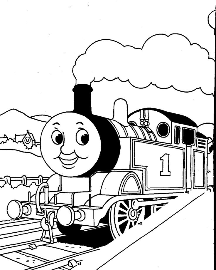Thomas Printables Thomas The Tank Engine Coloring Pages