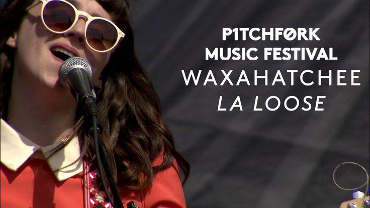 "Waxahatchee perform ""La Loose"" - Pitchfork Music Festival 2015"