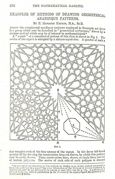 Pattern in Islamic Art - HAN 013