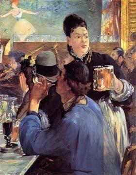 Corner of a Cafe-Concert - Edouard Manet