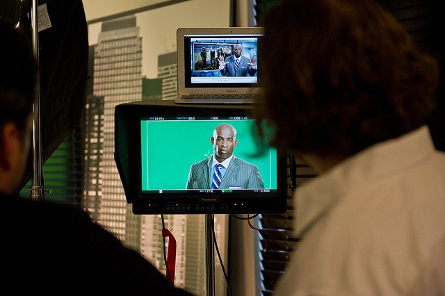 Behind the Scenes as Deion Sanders shoots the Van Heusen Super Bowl in Style Commercial.