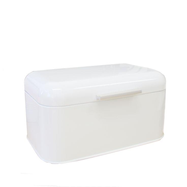 Brødboks Roble liten hvit