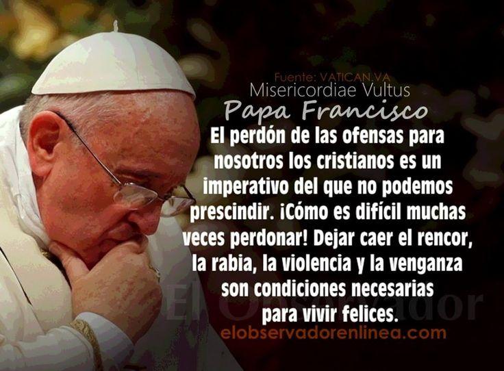 Frases en imagenes: Frases del Papa Francisco-Diciembre 2015