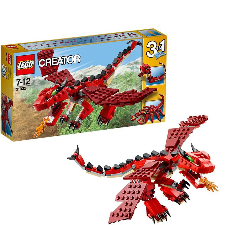 LEGO Creator - Dragón de Criaturas Rojas (31032)