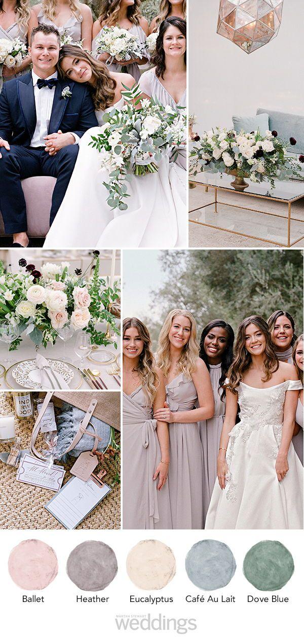One Couple S Beautiful Winter Wedding In Santa Barbara California Wedding Color Pallet January Wedding Colors Spring Wedding Colors