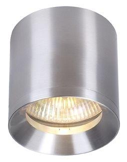 Spotline (149316) ROX CEILING Deckenleuchte, rund, alu natur, ES111, max. 75W - Oświetlenie i lampy LED - Hurtownia elektryczna JanexMarket