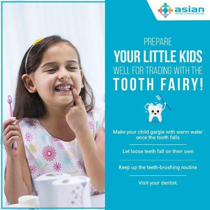 Children start losing their teeth around the age of six