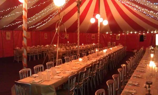 Big top reception, yes please. | Entertaining the idea ...