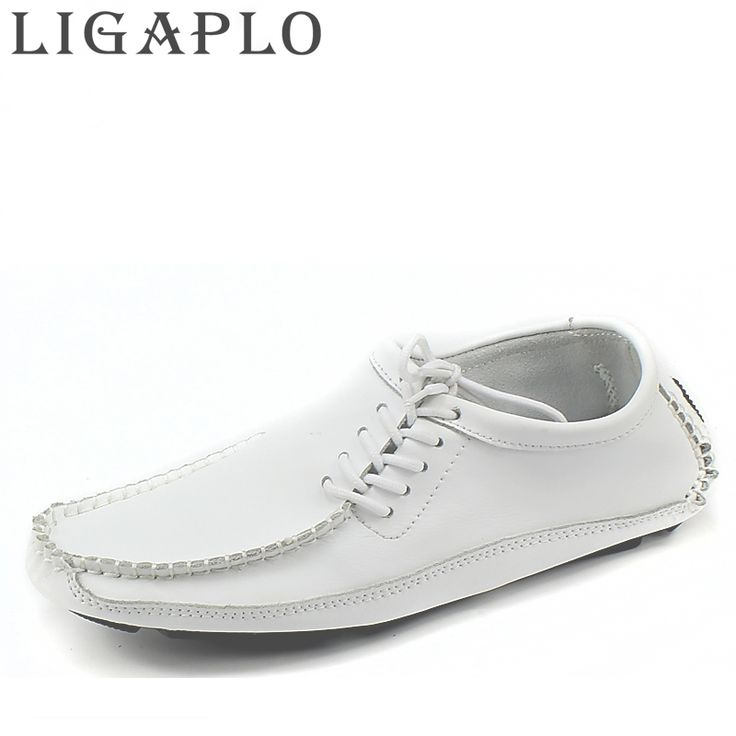 16.15$  Watch now - LIGAPLO Men Shoes Summer Cool Winter Warm Leather Shoes Men's Flats Shoes Low Mens casual Oxford Shoe for Men  #magazineonlinewebsite