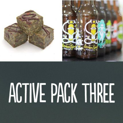 100% of the proceeds of the sale of this bundle go to Starlit HOPE charity.www.facebook.com/gabbysstarlithope***ACTIVE PACK THREE***Need a good thirst quenching and gut boosting brew then grab a Booch®. Need some energy and a tasty pick-me-up, then grab a Tom & Luke Trinity