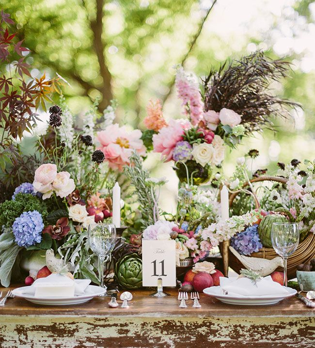southern farm to table wedding inspiration