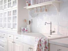 76 besten Ikea Küche Landhausstil Metod Bodbyn Bilder auf ...
