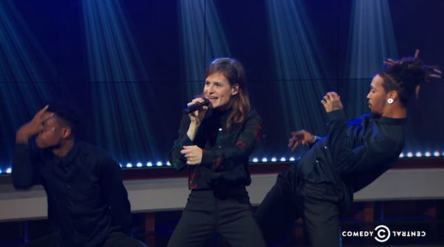 French pop sensation Christine And The Queens performed on The Daily Show With Trevor Noah last night. She did three songs, one on the show itself and two as...