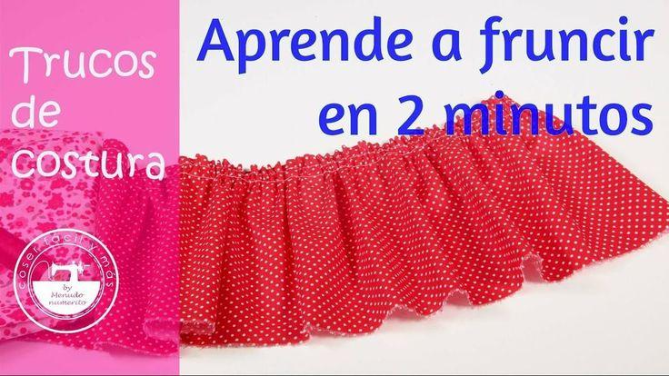 Trucos de costura: cómo fruncir en 2 minutos