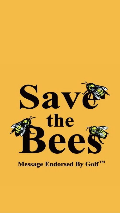 Save the Bees iphone lockscreen Bedroom Posters, Bedroom Wall, Poster Wall, Poster Prints, Picture Wall, Photo Wall, Trippy Wallpaper, Aesthetic Black, Tyler The Creator