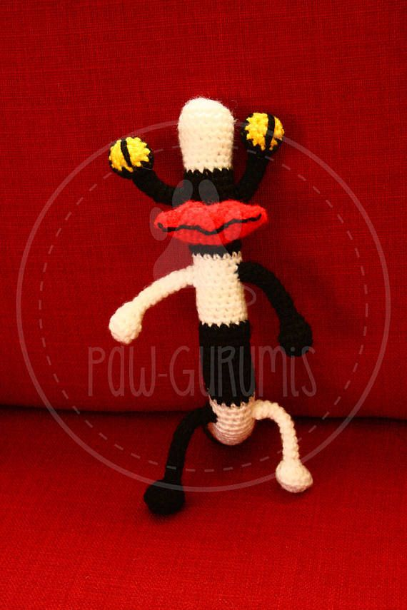 Oblina  Aaahh Real Monsters  23 cm amigurumi