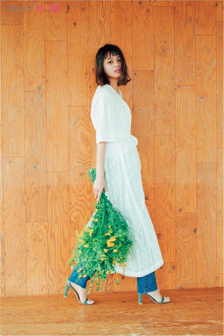 【今日のコーデ/岸本セシル】マンネリ打破したい土曜日はマキシワンピ×デニムの旬バランス! | ファッション(コーディネート・流行) | DAILY MORE