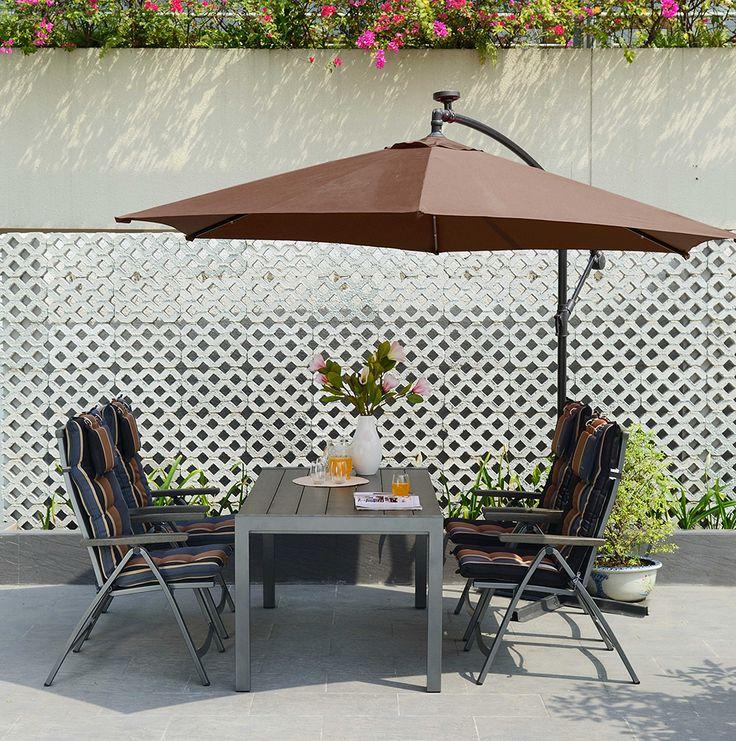 1000 images about parasols color s on pinterest murcia for Table exterieur jysk