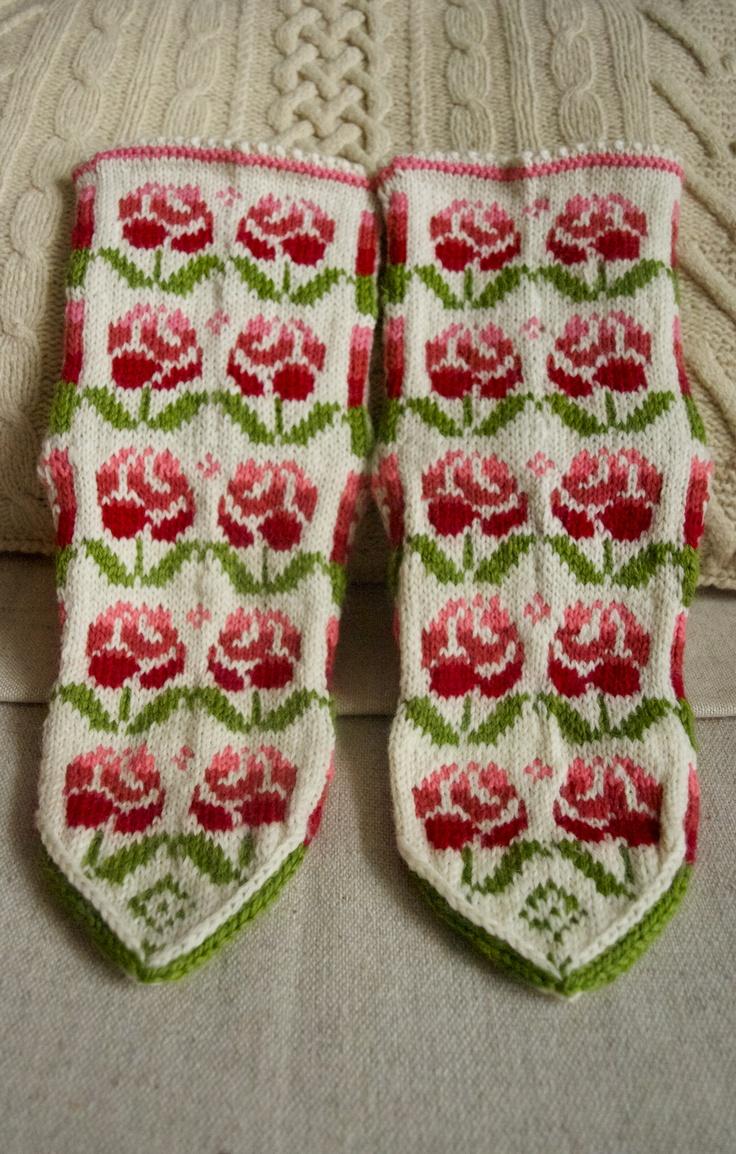 """Socks """"Roses"""""""