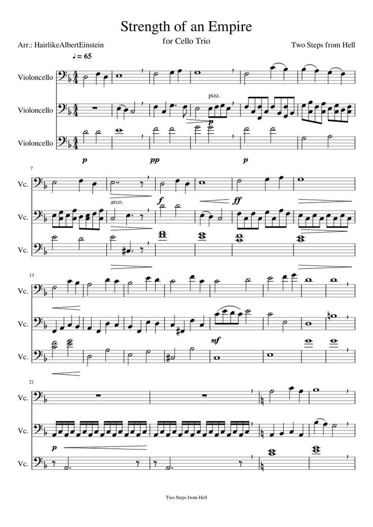 All Music Chords star wars cello sheet music : Las 288 mejores imágenes sobre Cello/Music en Pinterest