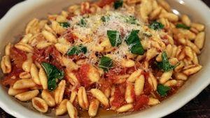 Cavatelli with Quick Tomato Sauce Recipe | The Chew - ABC.com