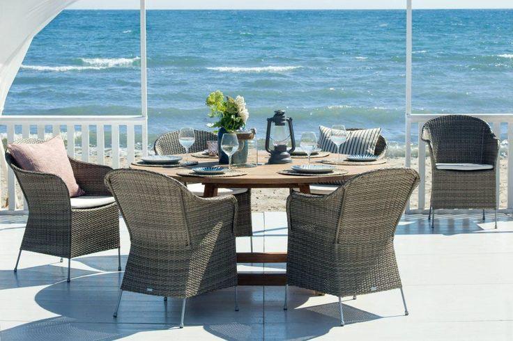 ATHENE fotele ogrodowe i stół GEORGE. AVANTGARGE Sika-Design 2016. Poleca Willow House.