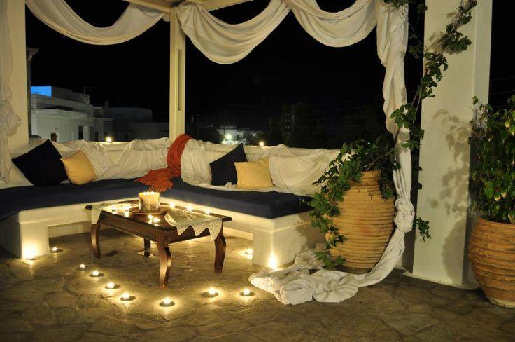 A beautifully magic #night Aloni Hotel Paros!