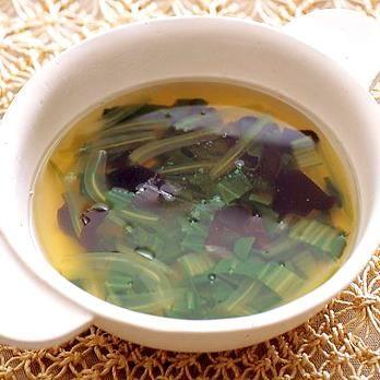 チンゲンサイときくらげのスープ | 牧野直子さんのスープの料理レシピ | プロの簡単料理レシピはレタスクラブニュース