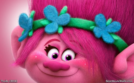 #Poppy From #Dreamworks' #Trolls Wallpaper :]