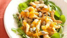 Salada de Frango Thai com Mango Chutney