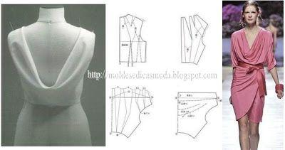 Moldes Moda por Medida: DETALHES DE MODELAÇÃO-2