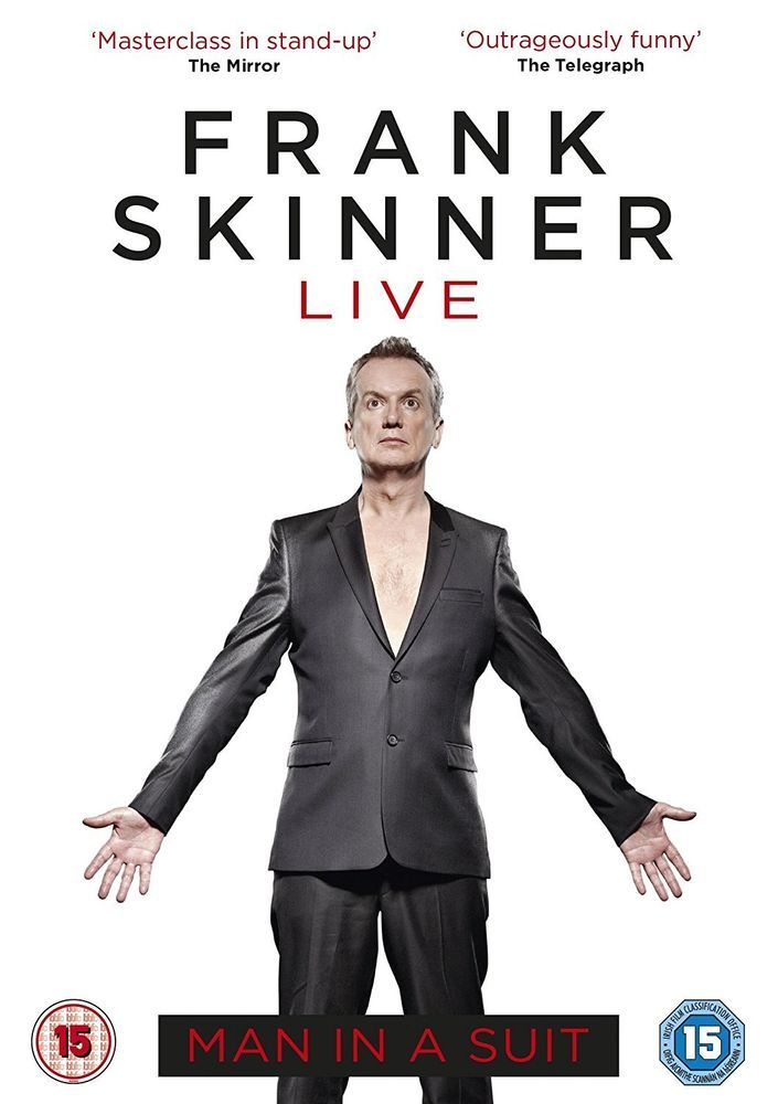 Frank Skinner Live - Man in a Suit [DVD] 2014