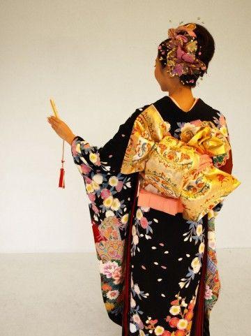 Japanese Kimono yuzen