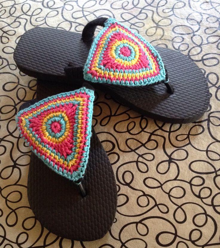 Flip flop and crochet