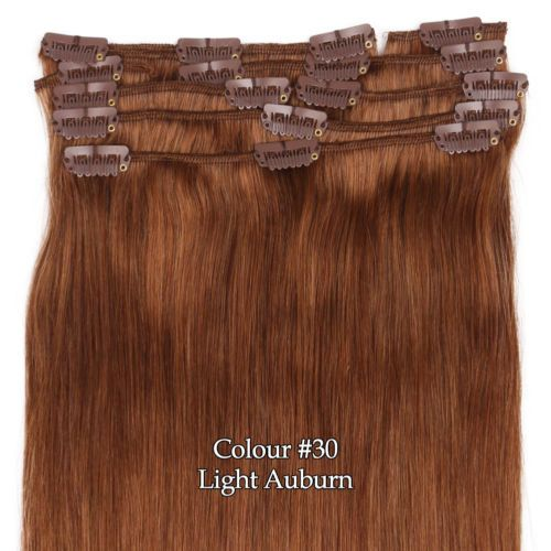 Best 25 real hair extensions ideas on pinterest extensions clip full head 161820222426 clip in 100 remy real human hair extensions pmusecretfo Gallery