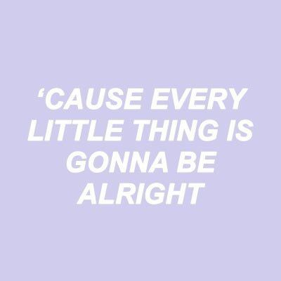 be alright // ariana grande
