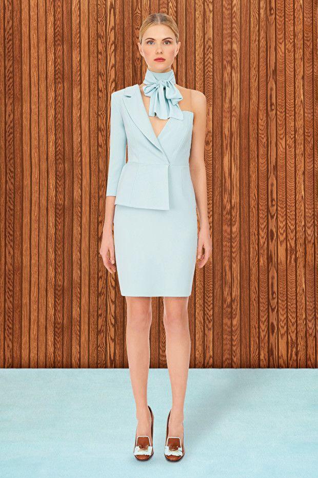 Mini abito asimmetrico - Elisabetta Franchi  05ef5d8f8d6