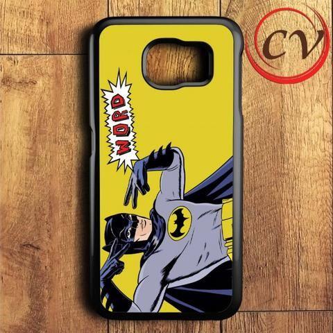 Classic Batman Comic Samsung Galaxy S6 Case