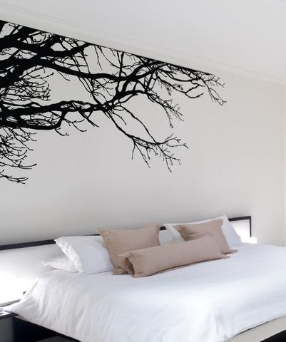 Vinyl Wall Decal Sticker Tree Top Branches #444 | Stickerbrand wall art decals, wall graphics and wall murals.