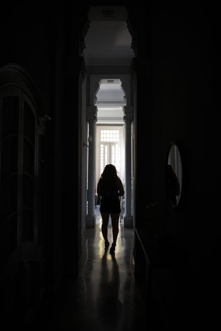 tall hallway