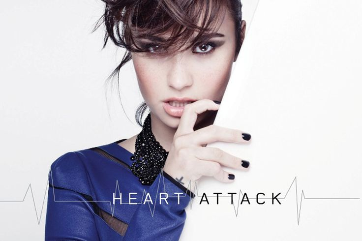 Demi Lovato gave her fans a surprise by releasing her new song 'Heart Attack' late Sunday night.