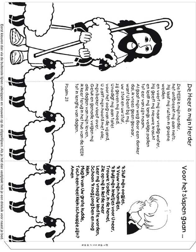drieluik quot de heer is mijn herder quot bijbel jezus en zijn